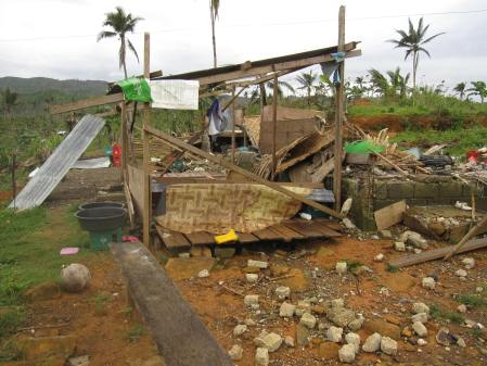 The loss of lives and livelihoods  is making people desperate in the Philippines Typhoon affected areas.