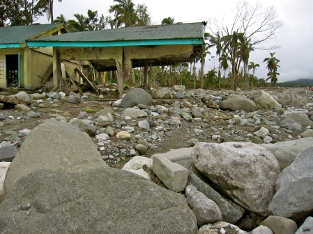 Philippines, Andap, typhoon