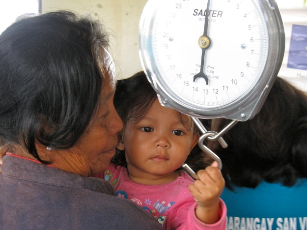 Malnutrition, Philippines, Cateel, Merlin